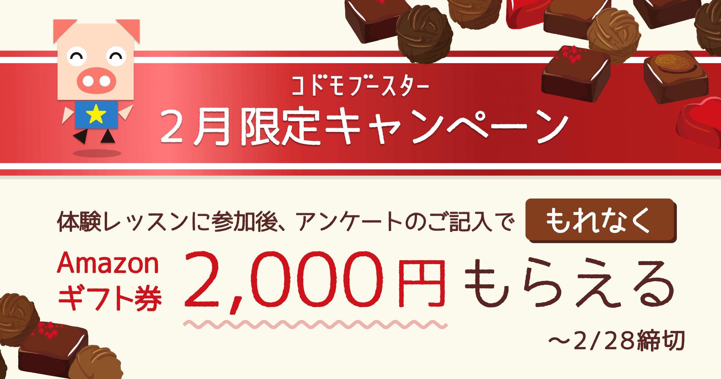 2月のキャンペーン